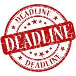 Deadline stamp