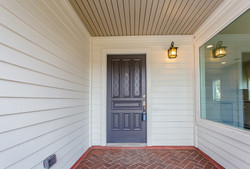 Porch with Painted Ceiling