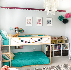 A Colorful Little Girls Room