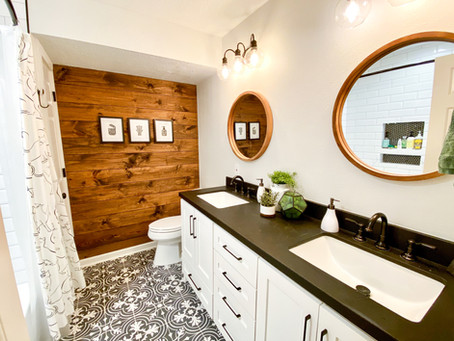 Designing a Fun Farmhouse Bathroom for Kids