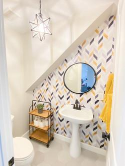 Half Bath Under Stairs