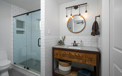 Primary Bathroom - Industrial, Farmhouse style