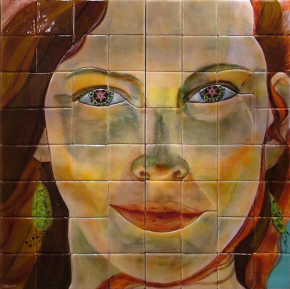Girl with Kaleidescope Eyes