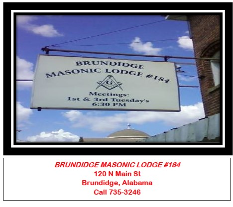 Brundidge Masonic Lodge