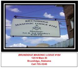 Brundidge Masonic Lodge