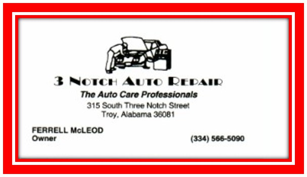 3 Notch Auto Repair