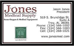 Jones Medical Supply