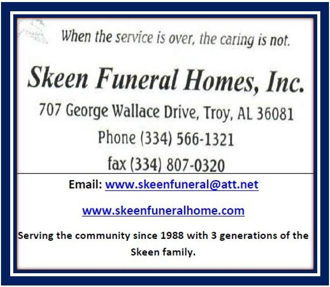 Skeen funeral home