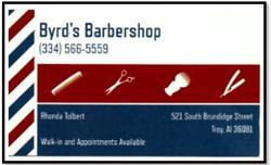 Byrd's Barbershop