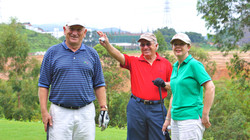 Happy golfers at Mission Hills