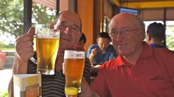 Drink after golf