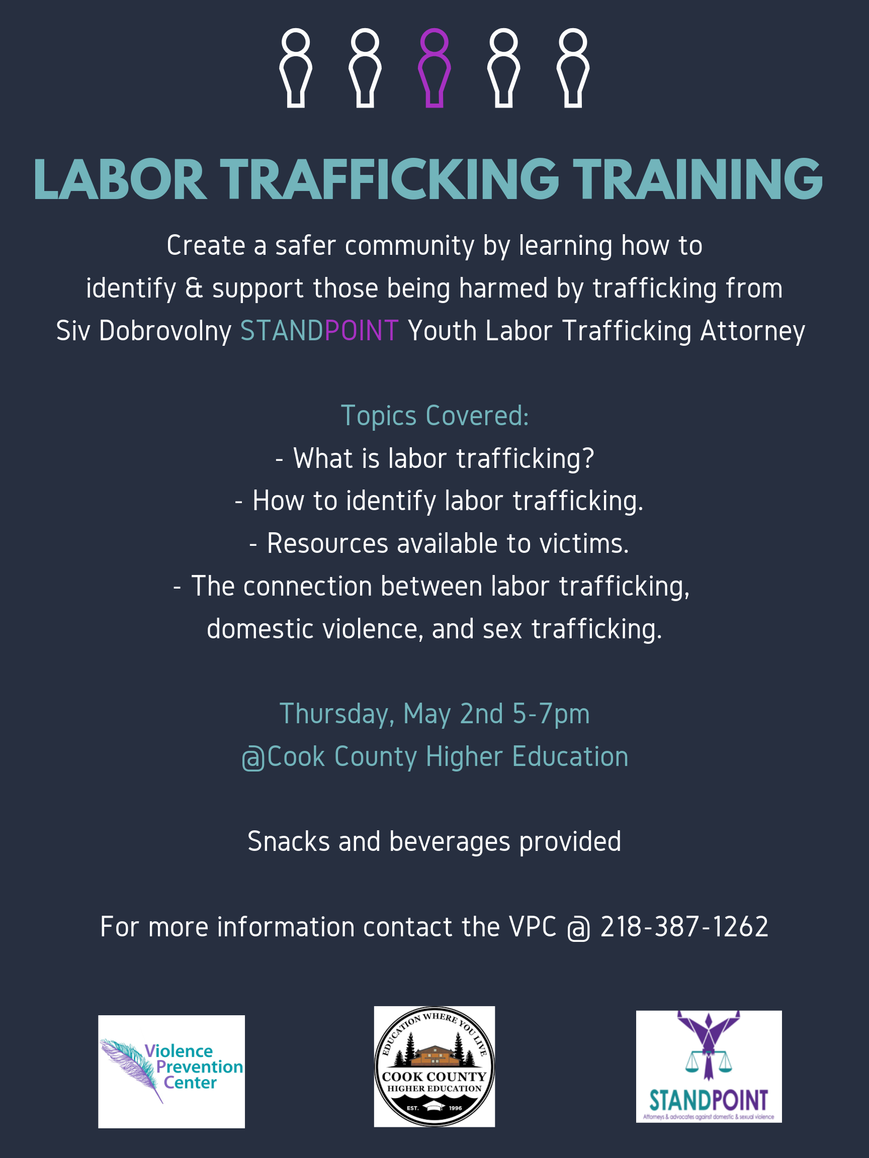 Labor Trafficking Training Poster (Commu