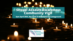 Sexual Assault Awareness Vigil for