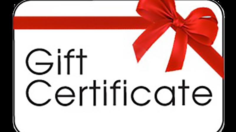 $120 GLAM STUDIO GIFT CERTIFICATE FOR $100