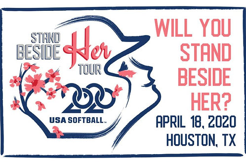 Stand Beside Her Tour - Houston Game Program