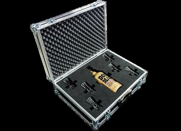 GT-Case Funkoffer Spirituosenkoffer für Dos Mas + 6 Gläser