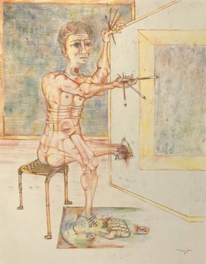 El pintor - Fig (A). 1993