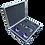 Thumbnail: GT-Case Funkoffer Spirituosenkoffer für Puschkin + 2 Gläser + 2 Dosen Energy