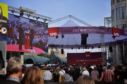 SPD Videoprojektion