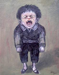 Niño llorando. 2011