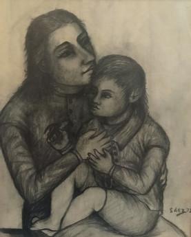Maternidad. 1975