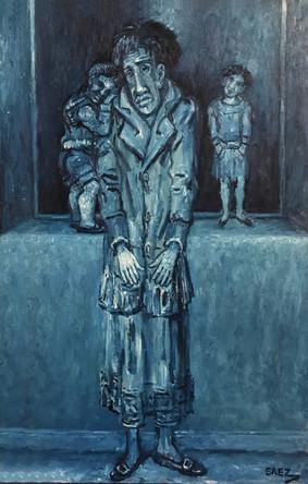 Mujer con niños. 2002