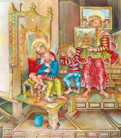 Virgen con niño. 1994