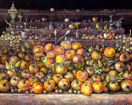 Bodegón con cacharros. 2004