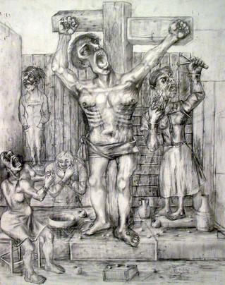 Crucifixión. 2000