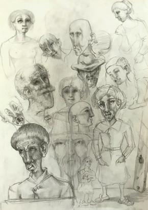 Estudio cabezas. 2003