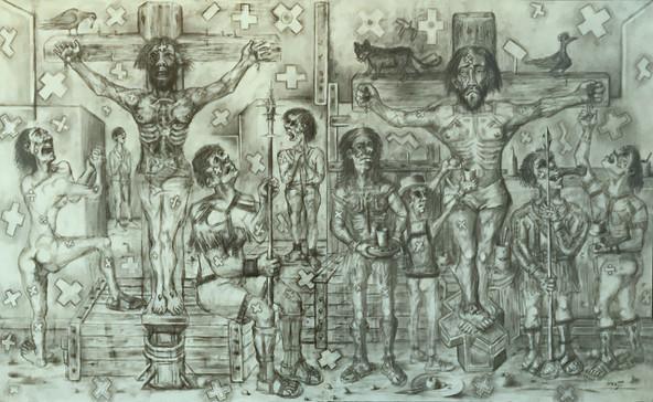 Crucifixión. 1999