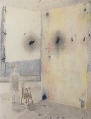 Mujer en un ámbito. 1993