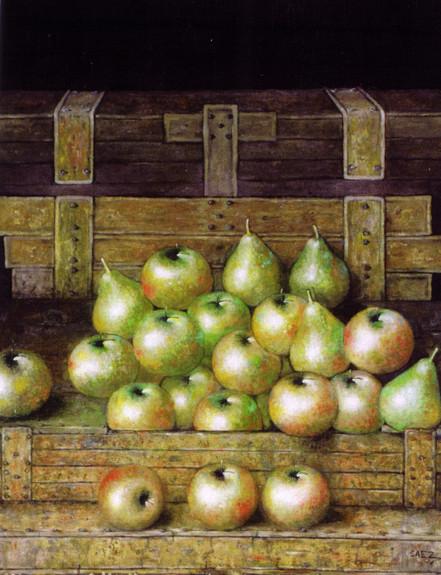 Manzanas y peras. 2003