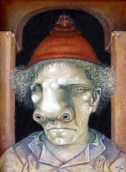 Personaje con gorro. 2009