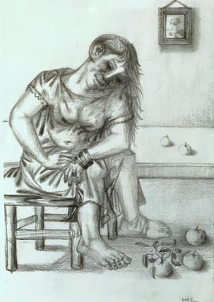 Mujer sentada. 2003