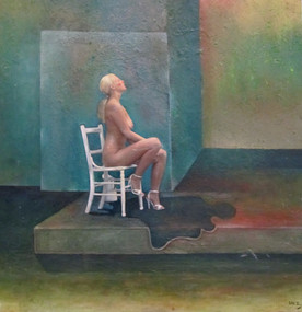 Mujer sentada. 1975