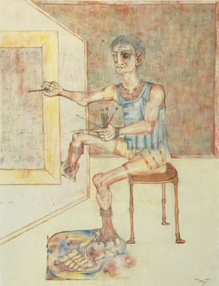 El pintor - Fig (B). 1993