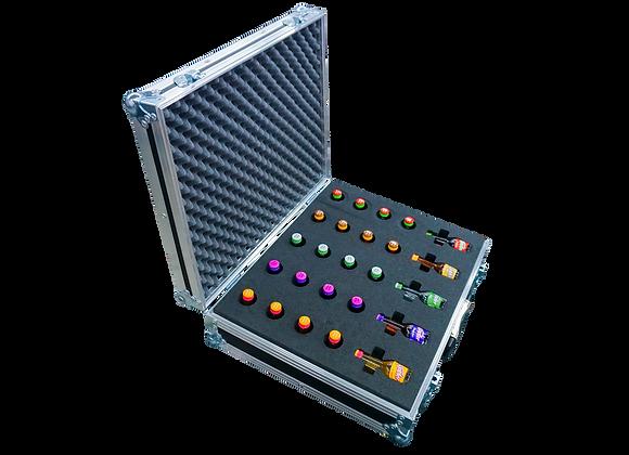 GT-Case Funkoffer Spirituosenkoffer für 25 x kleiner Klopfer