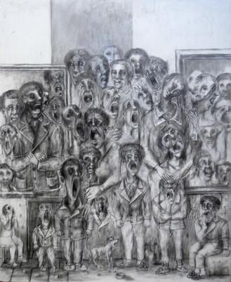 La protesta. 1997