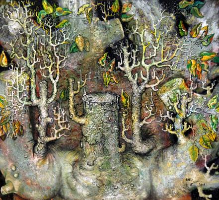 Naturaleza muerta. 2001