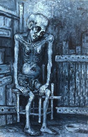 Joven enfermo. 2002