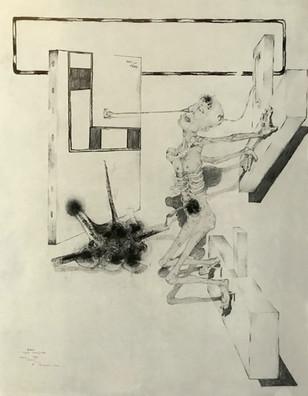 Figura crucificada. 1993