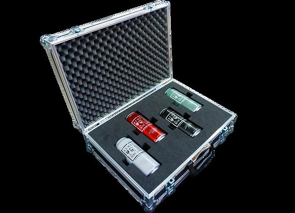 GT-Case Funkoffer Spirituosenkoffer für 4 x 0,5L Dosen