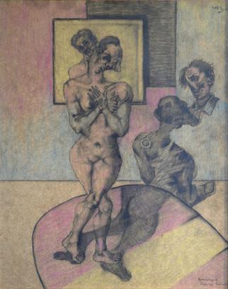 Homenaje a Francis Bacon. 1996