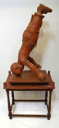 Niño acrobata. 1985