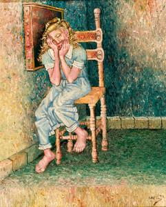 Mujer sentada. 1994
