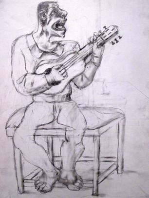 Cantaor estudio. 1999