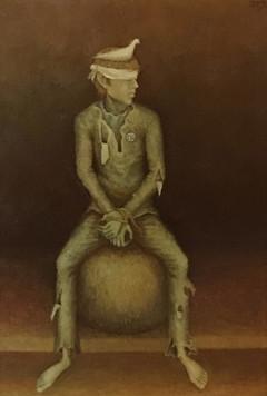 Joven sentado. 1973
