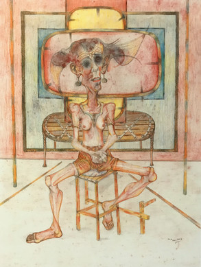 Mujer sentada. 1993