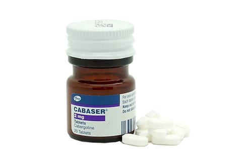Cabaser (Каберголин) 2 мг. 1 таблетка.
